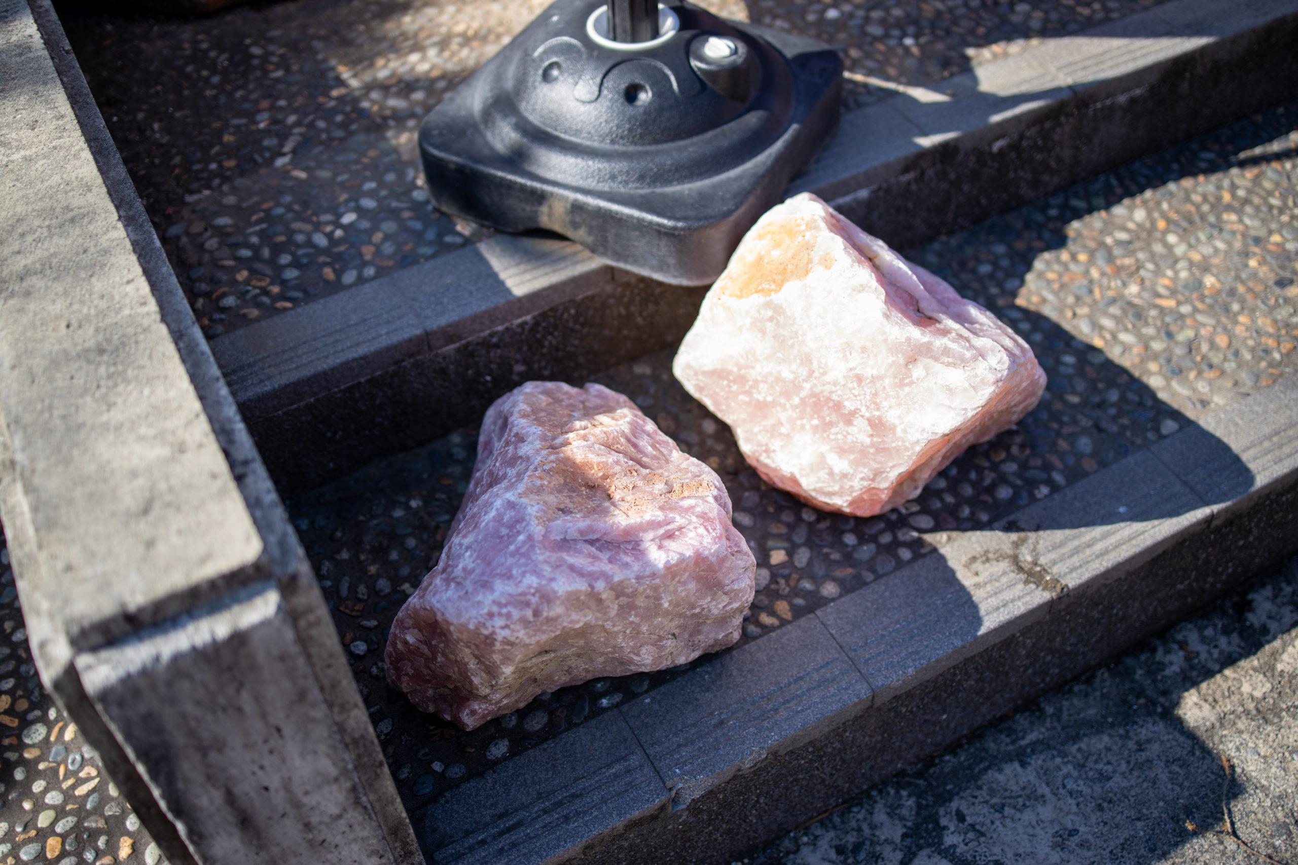 紅水晶原石